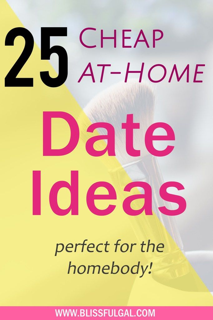 At Home Date Ideas for the Homebody | Cheap Date Ideas | Easy Date Nights | Fun date ideas | Movie date night