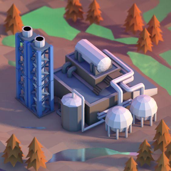 3d chemical BUILDING - Buscar con Google