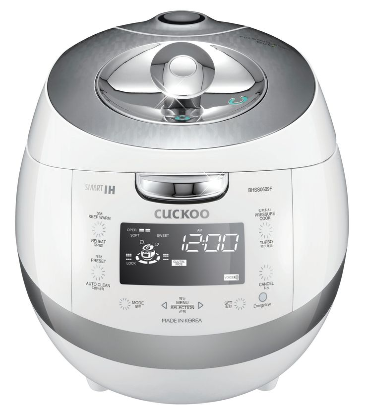 6-Cup Stainless IH Pressure Cooker