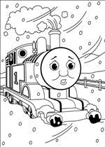 coloring page Thomas the Train