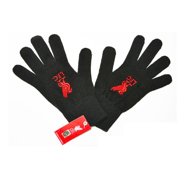 liverpool winter gloves black FC Liverpool Official Merchandise Available at www.itsmatchday.com