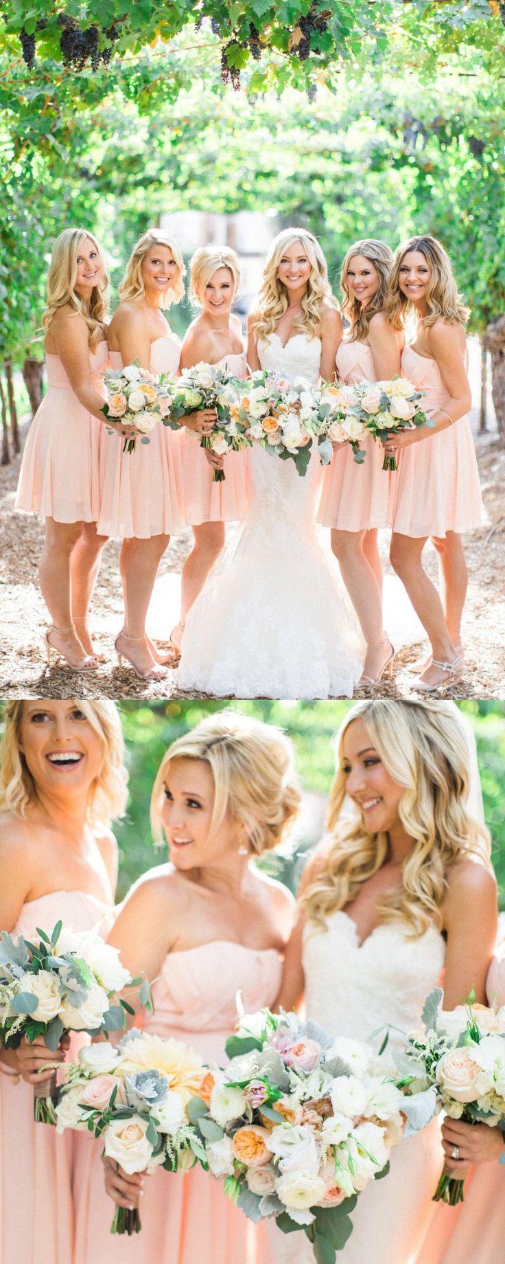 Short Bridesmaid Dresses, Pink Bridesmaid Dresses, Bridesmaid Dresses Short, Short Pink dresses, Pink Short dresses, Zipper Bridesmaid Dresses, Pleated Bridesmaid Dresses, Sweetheart Bridesmaid Dresses, Sleeveless Bridesmaid Dresses