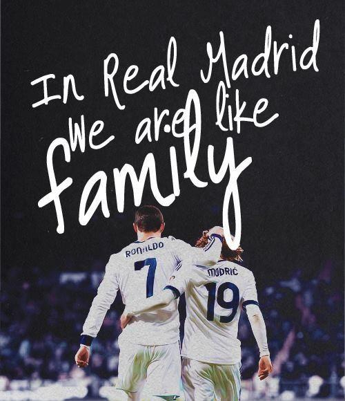 En el Real Madrid, somos como una Familiaa;D