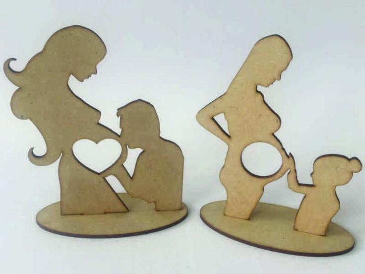 Recordatorio Baby Shower Madera Decoracion Regalo - $ 12.000 en Mercado Libre
