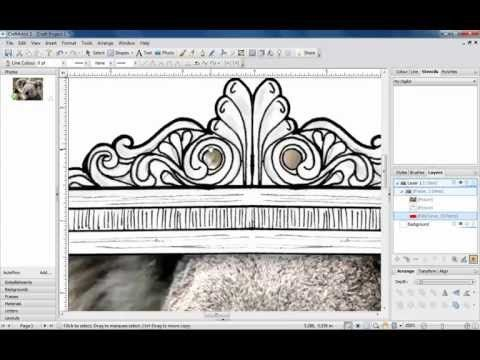 CraftArtist 2 Professional allows you to create your own intelligent photo frames to simply drag and drop your photographs into. In this video, we show you how to create your own frames.