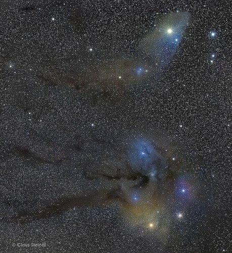 Antares m4 rho ophiuchi blue horsehead saturn by claus steindl