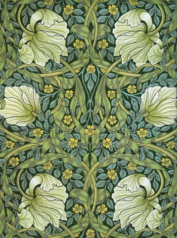 William Morris textile design                                                                                                                                                      More