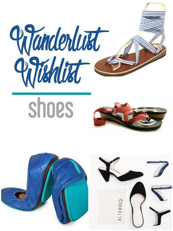 Wanderlust Wishlist: Shoes   CosmosMariners.com