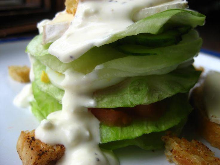 Layered Cobb Salad | My Idea of Good! | Pinterest