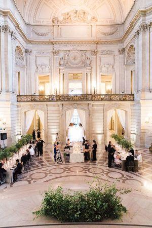 San Francisco City Hall Wedding With A Modern Flair In 2018