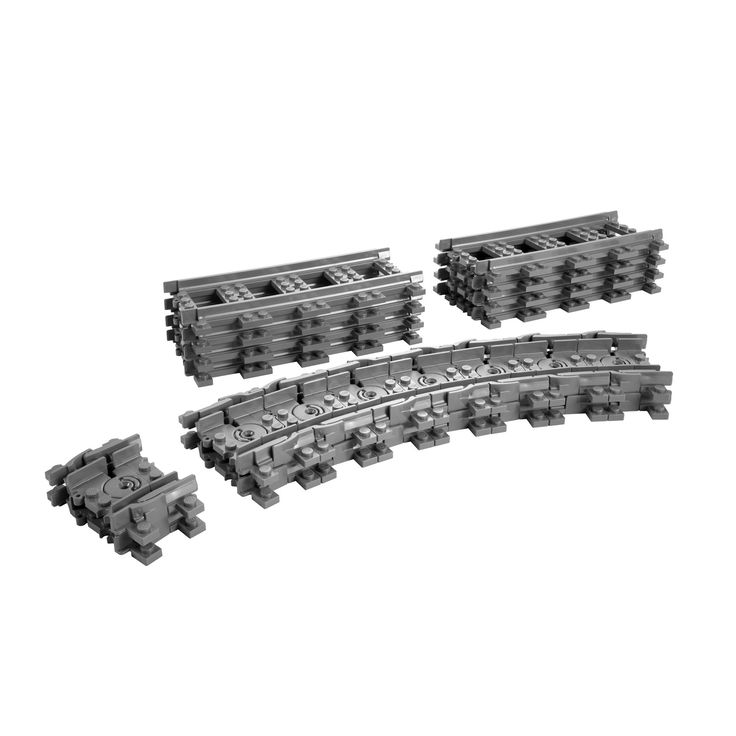 LEGO CityTrain Flexible Tracks #7499