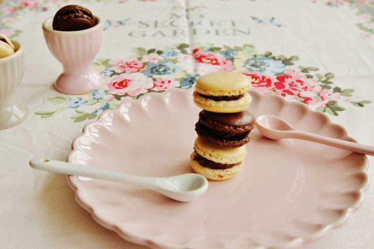 Extra čokoládové a vanilkové makronky – Kate's Cuisine