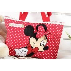 Minnie Mouse Travel Bag - Red $20.50 + Postage!  Shop it Here > http://www.babyluscious.com.au/characters/minnie-mouse%20/minnie-travel-bag-red