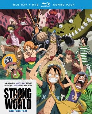 One Piece Movie 10: Strong World DVD/Blu-ray (Hyb) #RightStuf2014