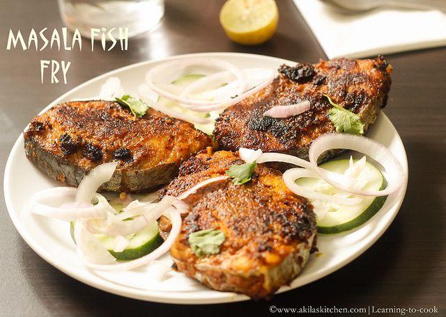 How To Make Masala Fish Fry Recipe Indian Fish And