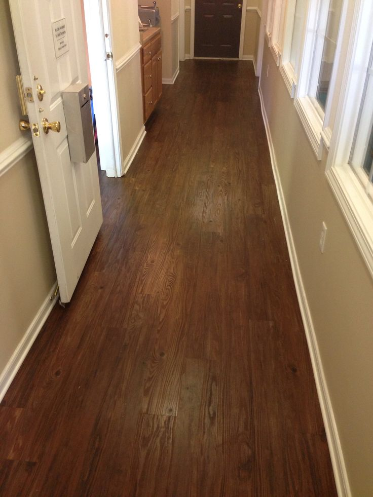 Konecto   Prestige Planks Walnut Vinyl Wood Look Flooring: Love This For  Mikes Kitchen