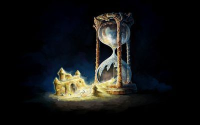 Broken hourglass HD wallpaper | Fantasy Worlds | Pinterest ...