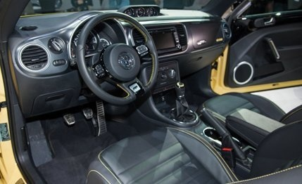 2014 Volkswagen Beetle GSR Special Edition – News – Car and Driver Crazy interior