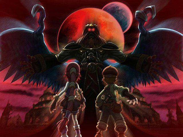 Dark Cloud 2: Max, Monica & Emperor Griffon