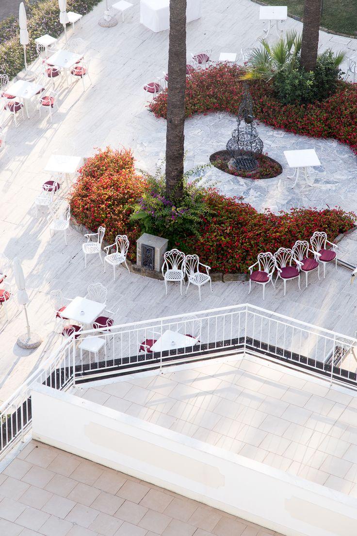 5* Royal Hotel Sanremo Italien / Terrasse