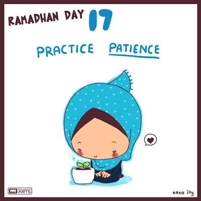 """day 17 """"practice patience"""""""