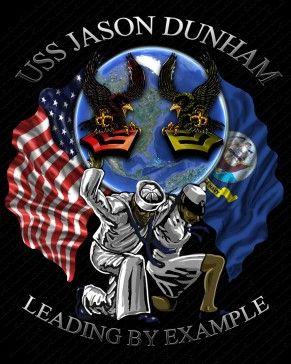 USS Jason Dunham DDG-109 Shirts