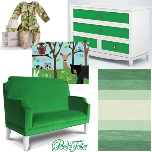 Color Cheat For The Best Sleep   GREEN! #poshtots