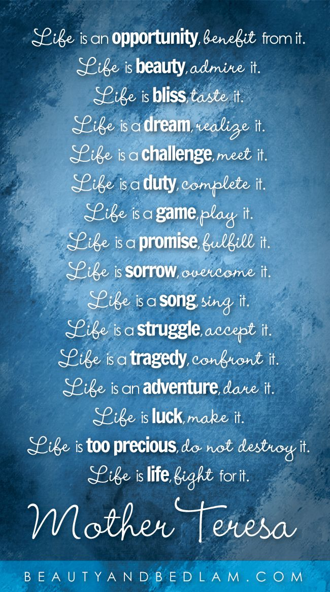 Life is...What a great reminder to Embrace every moment of it. Head to the blog and print your own copy of this great reminder.