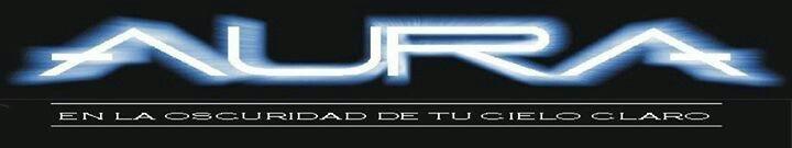 Logo Oficial  AURA con el nombre del Album de la Banda