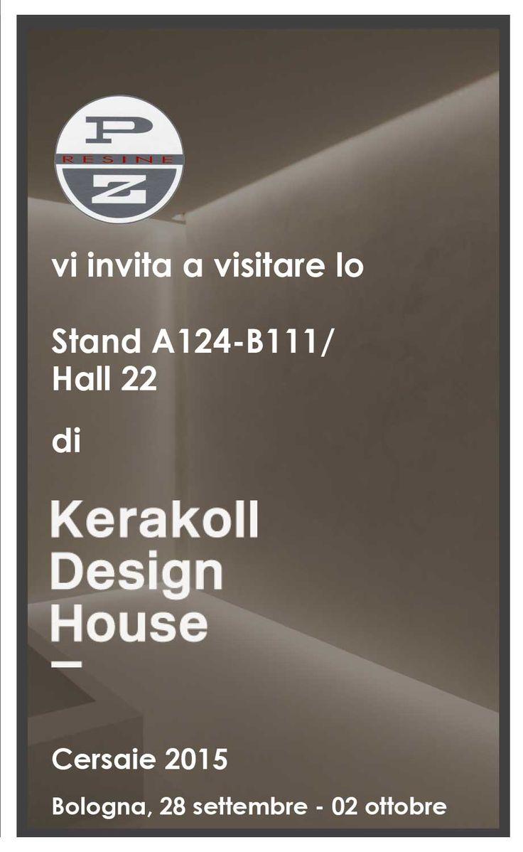 CERSAIE 2015  Kerakoll Design House in collaborazione con P.Z. resine