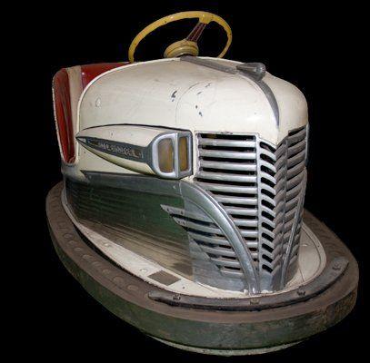 Bumper Car Art Deco