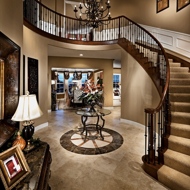 31 best images about foyer on pinterest foyer staircase for Staircase ideas near entrance