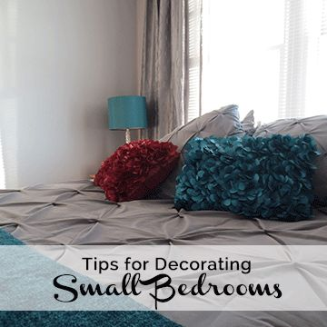 Tips for Decorating Small Bedrooms - All Things E