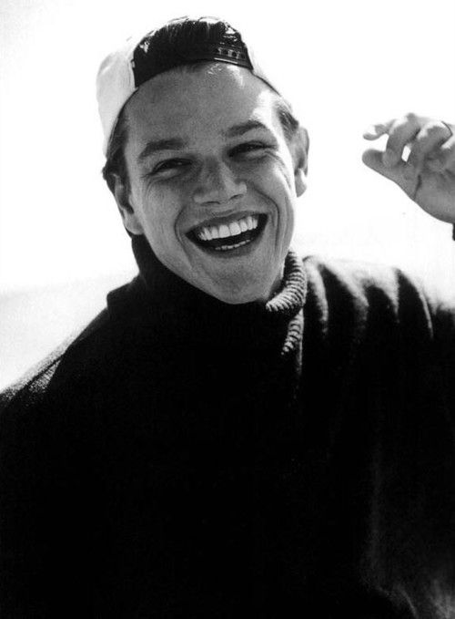Matt Damon yes i know he is taken and older but you never know!