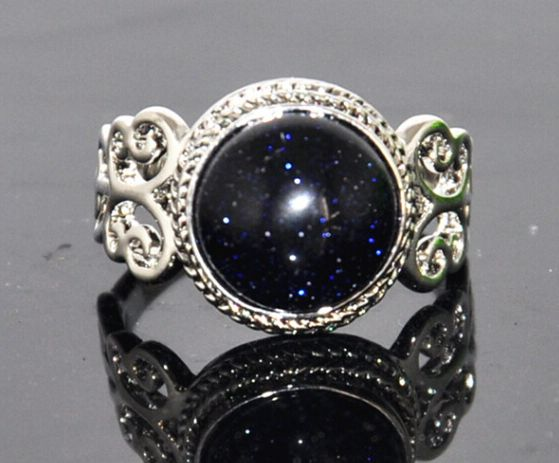 Special Bling Royal Blue Stone Ring