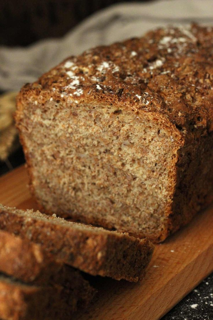 Healthy Wholemeal Bread recipe is vegan, simple and just ...