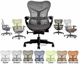 Mirra Chair by Herman Miller - Fully Featured - Graphite Frame - Graphite