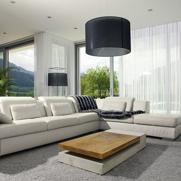 pastarro couchtisch 23 aus beton mit massivholz. Black Bedroom Furniture Sets. Home Design Ideas