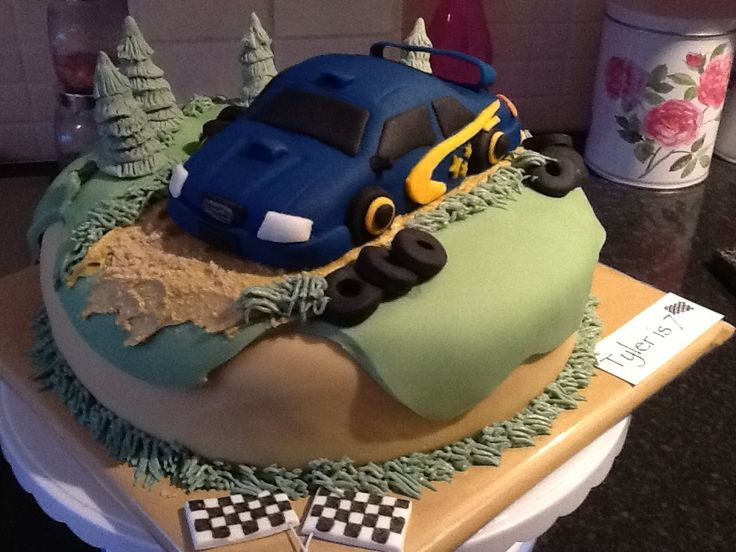 8 Best Rally Car Images On Pinterest Anniversary Cakes
