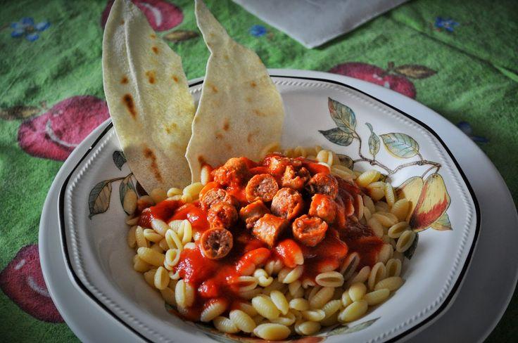 #Ricettasarda - Malloreddus con salsiccia sarda