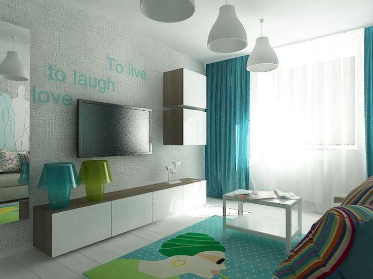 Бой за гардеробную в квартире для молодой семьи площадью 41,3 кв. м