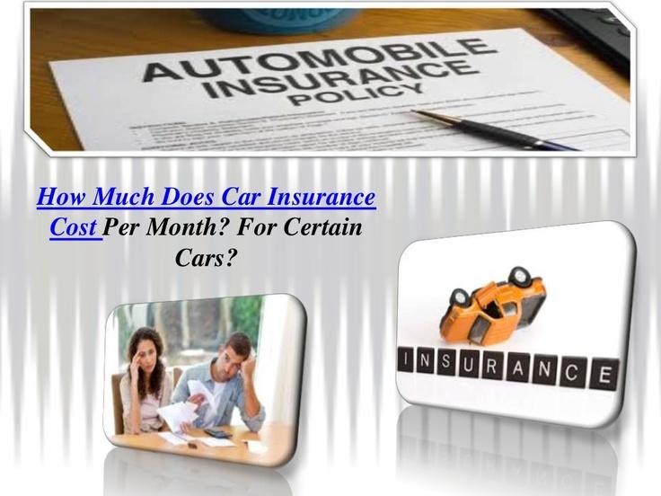 car insurance rates per month