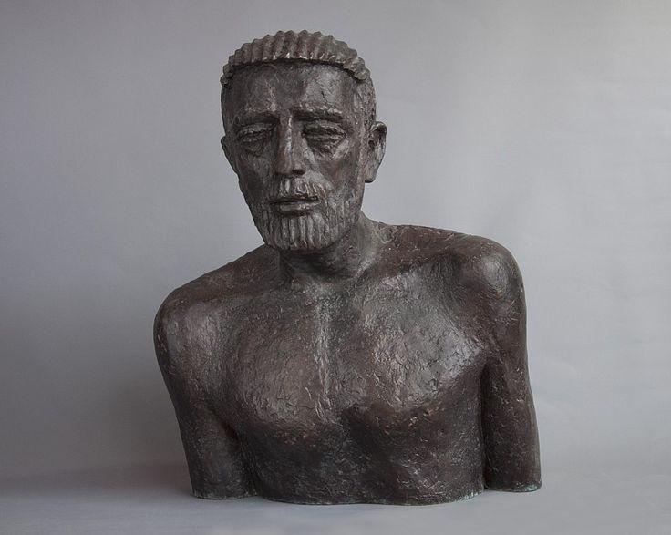 Olbram Zoubek Busta Josef bronz / bronze 63 cm, 1978