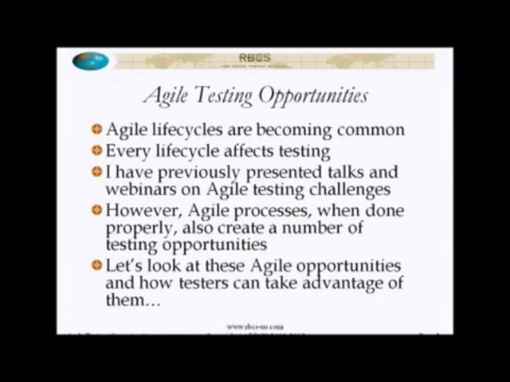 """9 Characteristics of Agile Methodologies to Turbo-charge Your Testing"" with Rex Black"
