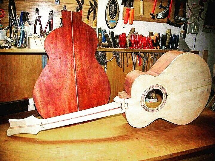 Bloodwood acoustic guitar