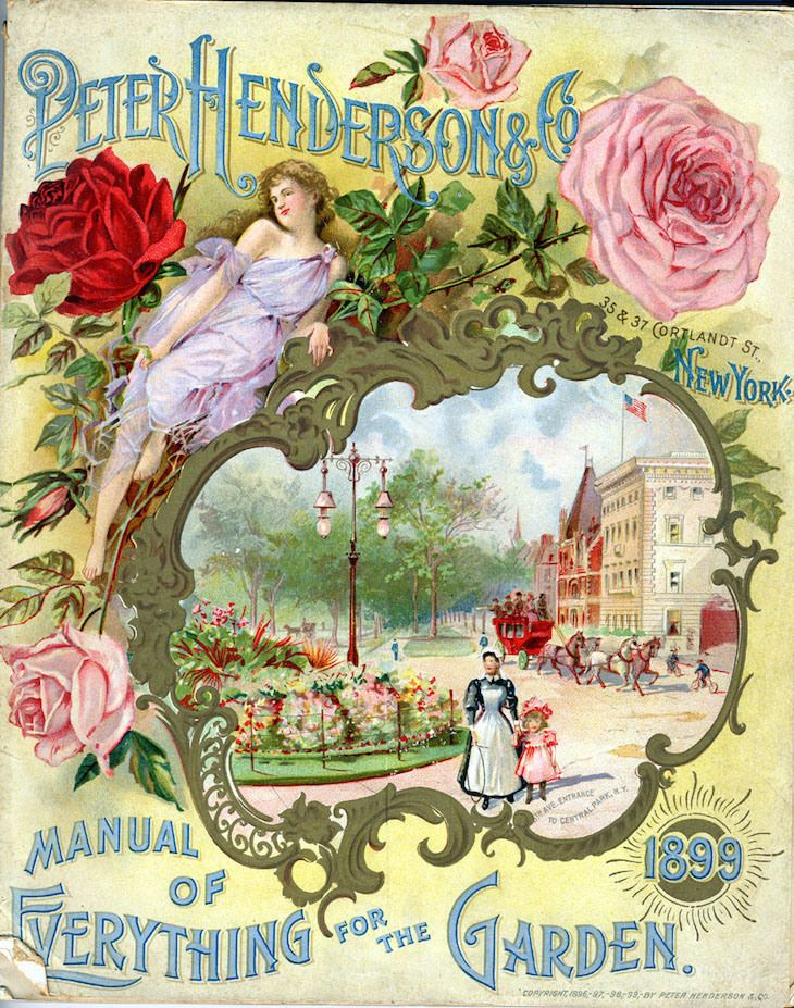 Wings of Whimsy: 1899 Henderson's Seed Catalog Cover freebie printable