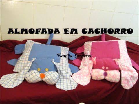 DIY ARTESANATO COMO FAZER ALMOFADA DE CACHORRO                                                                                                                                                                                 Mais