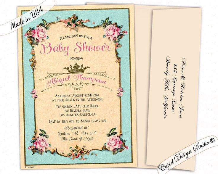 88 best baby shower invitations images on pinterest | baby shower, Baby shower invitations