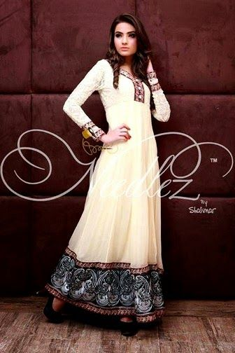 Needlez by Shalimar Fancy, Formal and Party Wear Dresses 2014 - She9 | Change the Life Style