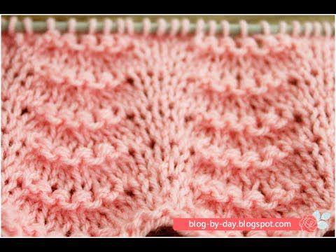 Blog By Day: Ponto Ondas :: Wave Stitch